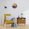 Flor Clock design Cloudnola on LaCorbeille.fr