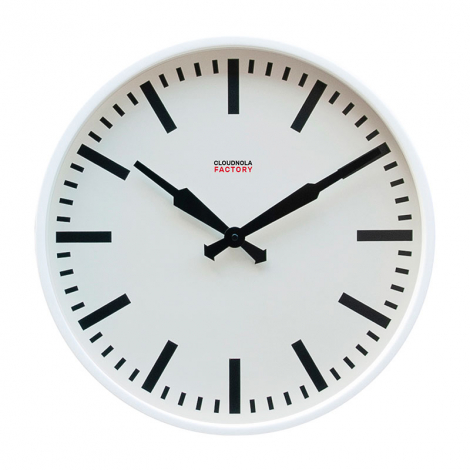 Large Station Clock Factory design Cloudnola on LaCorbeille.fr