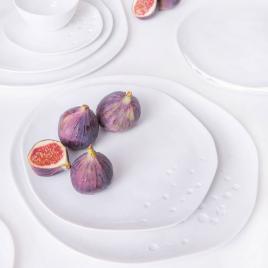 Assiette Flora de la marque Raeder sur LaCorbeille.fr