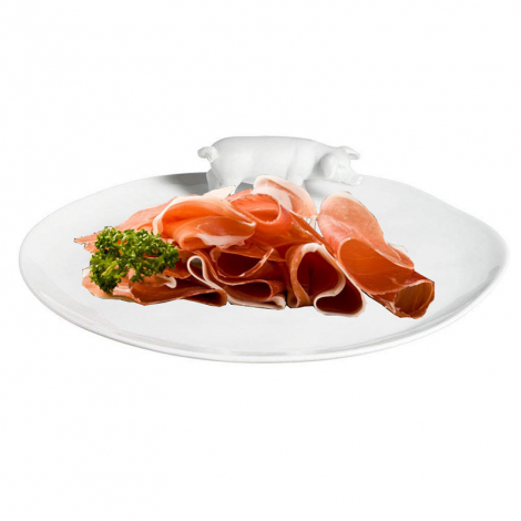 Big plate for cold cuts