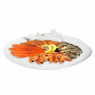 Big plate for fish and seafood