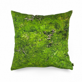 Cushion with nature printing