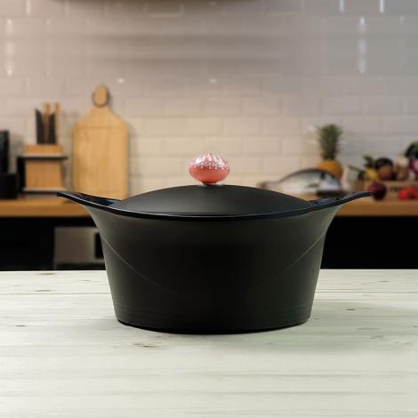 "Black casserole dish ""Ma Jolie Cocotte"""