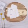 Wonderland wood tray
