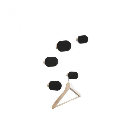 Patères Micro design Big Game pour Moustache sur LaCorbeille.fr