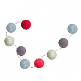 "Children's light garland ""La Petite Case"""