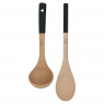 Cookut wooden spoon and ladle set