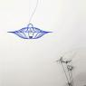 Petite suspension Ombrelle design Jocelyn Deris sur LaCorbeille.fr