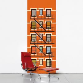 """Bande de paier-peint """"New York"""" de la marque Domestic sur LaCorbeille.fr"""