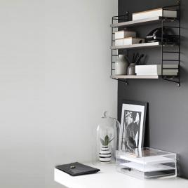Etagère String gris et noir sur LaCorbeille.fr