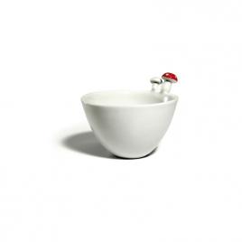 Bol en porcelaine Champignon d'Elise Lefebvre sur LaCorbeille.fr