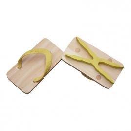 Tongs Ashiato empreintes de chouette de la marque japonaise Kiko + sur LaCorbeille.fr