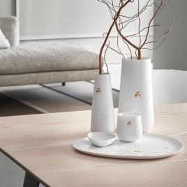 Plat avec décor végétal de la marque Räder sur LaCorbeille.fr