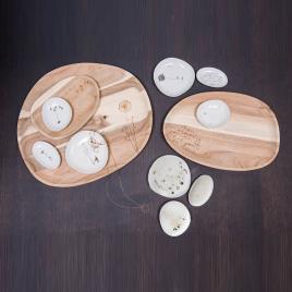 Wonderland garden bowls set