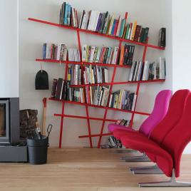 Grande bibliothèque Mikado design Jean-François Bellemère pour Compagnie sur LaCorbeille.fr