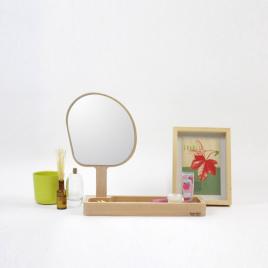 Miroir - vide-poche Kagami de la marque Reine Mère sur LaCorbeille.fr