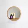 Mirror with shelf Sunrise