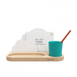 Desktop Organizer In The Clouds