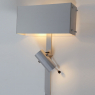 Wall lamp with adjustable spotlight by Pierre Vandel