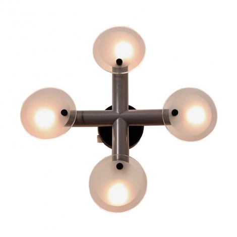 Eighties wall / ceiling lamp