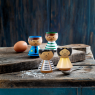 Coquetier en bois Bordfolk - Fille de la marque Lucie Kaas sur LaCorbeille.fr