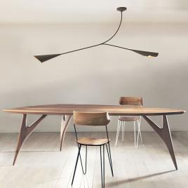 Table TED Masterpiece de la marque italienne Greyge sur LaCorbeille.fr