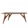 Table TED ONE Grise de la marque Greyge sur LaCorbeille.fr