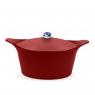 "Red casserole dish ""Ma Jolie Cocotte"""