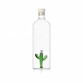 Desert Plant Bottle with a cactus
