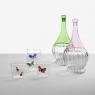 """""""Garden Picnic"""" glass by Ichendorf Milano"""