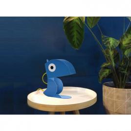Lamp blue Parrot