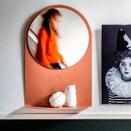 Miroir d'entrée LCM Van Tjalle en Jesper sur LaCorbeille.fr