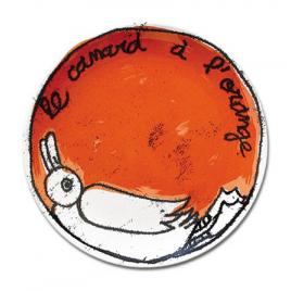 assiette Recette 100drine sur LaCorbeille.fr : Le Canard à l'orange