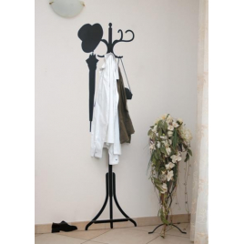 Coat-Hanger Vynil + by 5.5 Designers