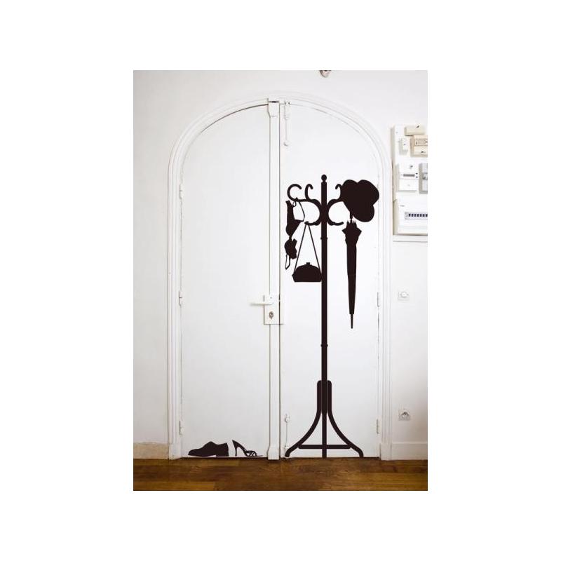 porte manteau vynil. Black Bedroom Furniture Sets. Home Design Ideas