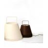 lampe à poser petit modèle blanc et noir par 5.5