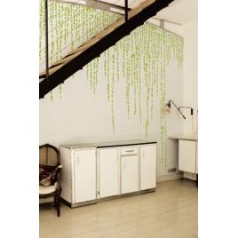 Sticker vert Jungle Peas - design Ich&Kar pour Domestic sur LaCorbeille.fr