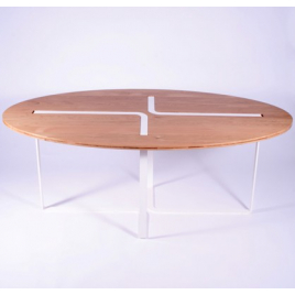 "Ovale table ""Sangle"""