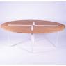 Table design Sangle Ovale - Design Jocelyn Deris sur LaCorbeille.fr