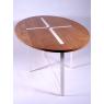 Table Sangle Ovale chêne et bois - Design Jocelyn Deris sur LaCorbeille.fr