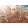 Table et tabourets design Sangle Ovale - Design Jocelyn Deris sur LaCorbeille.fr