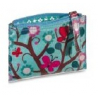"Wallet / pouch ""MiniLabo"" Butterflies with blue background"