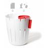 petit pot rouge pour déchet humide Basket Bin Konstantin Slavinski sur LaCorbeille.fr