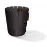 petit pot noir pour déchet humide Basket Bin Konstantin Slavinski sur LaCorbeille.fr