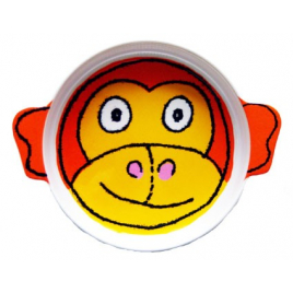 Plate for children Monkey
