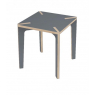 """Square table """"Serie X"""""""