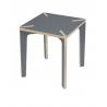 Table carrée Série x Design Benjamin Faure sur LaCorbelle.fr