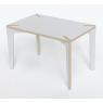 "Table / Bureau design blanche ""Série X"" design Benjamin Faure sur LaCorbeille.fr"