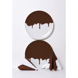Chocolate plates by Ich & Kar