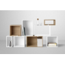 Small building block Stacked white